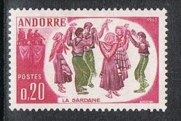 ANDORRE N°166 N* - Andorre Français