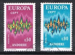 ANDORRE N°217 ET 218