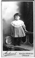 Paris Bromure Fillette Audouard Photographe 1880 TB état - Photos