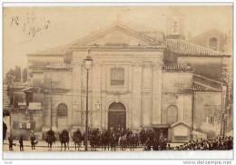 MONTPELLIER - INVENTAIRES  EGLISE ST-DENIS 12-02-1906 - LE CROCHETAGE DE LA PORTE GENDARMES - SUPERBE CARTE PHOTO - Montpellier