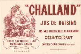 BU 1024 / BUVARD    CHALLAND JUS DE RAISINS  NUITS ST GEORGES - Softdrinks