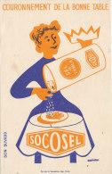 BU 1033 / BUVARD   SEL DE TABLE   SOCOSEL - Alimentos