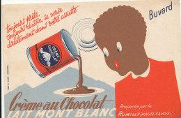 BU 1036 / BUVARD    CREME AU CHOCOLAT  LAIT MONT BLANC - Dairy