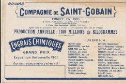 BU 1050 / BUVARD     COMPAGNIE DE SAINT GOBAIN  ENGRAIS CHIMIQUES - Agriculture