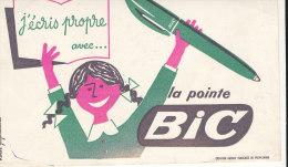 BU 1062 / BUVARD     LA POINTE BIC - Papeterie