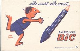 BU 1063 / BUVARD     LA POINTE BIC - Papeterie