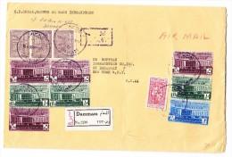 Saudi Arabien R-Brief Von Bammam 16.4.1960 Nach USA - Arabie Saoudite