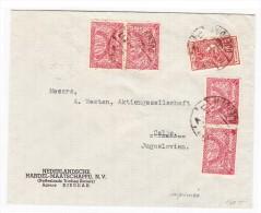 Saudi Arabien Brief Von Djedda 17-7-1938 Nach Celje Jugoslawien - Arabie Saoudite
