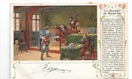Le Messager Du Moyen-âge. 1902 - Poste & Postini