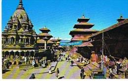 NEPAL Durbar Square Patan  KATHMANDU  - Cpm  Colorama Kathmandu-  Paypal Free - Népal