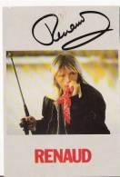 RENAUD CARTE DEDICACEE - Autographs