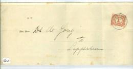 GESCHREVEN BRIEF Uit 1906 Van 's-GRAVENHAGE Naar LOPPERSUM NVPH 51 (8624)) - Periode 1891-1948 (Wilhelmina)