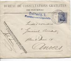 TP Oc 31 S/L.Publicitaire Bureau De Consultations Gratuites De Tournai Le Batonnier  Zulässig 7 PR851 - [OC26/37] Staging Zone