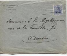 TP Oc 31 S/L.du Notaire Henrion à Aubange Censure Qui Oblitère Le RP PR853 - [OC26/37] Staging Zone