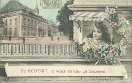 De Belfort Je Vous Envoie Ce Souvenir - Greetings From...