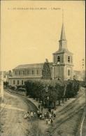 76 SAINT ROMAIN DE COLBOSC / L'Eglise / CARTE GLACEE - Saint Romain De Colbosc