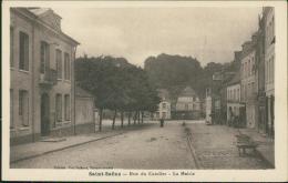 76 SAINT SAENS / Rue Du Catelier, La Mairie / - Saint Saens