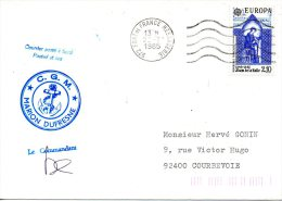 FRANCE. Enveloppe Commémorative De 1985. Marion Dufresne. - Französische Süd- Und Antarktisgebiete (TAAF)
