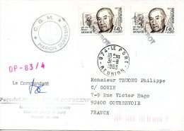 FRANCE. Enveloppe Commémorative De 1983. Marion Dufresne. - Französische Süd- Und Antarktisgebiete (TAAF)