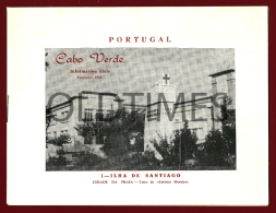 PORTUGAL - CABO VERDE - ILHA DE SANTIAGO - INFORMAÇOES UTEIS - 1968 OLD BROCHURE - Kultur