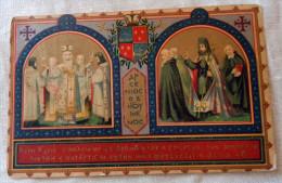 Antica Cartolina RICORDO IX CENTENARIO BADIA GRECA DI GROTTAFERRATA - Mostre, Esposizioni