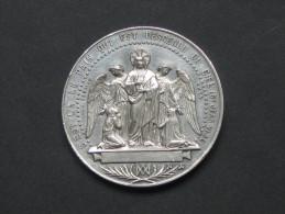 Jolie Médaille De BAPTEME - COMMUNION- CONFIRMATION , En Argent . **** EN ACHAT IMMEDIAT **** - Francia