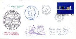 FRANCE. Enveloppe Commémorative De 1989. Le Polar Björn En Terre Adélie/ours Polaire. - Französische Süd- Und Antarktisgebiete (TAAF)