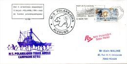 FRANCE. Enveloppe Commémorative De 1988. Polar Björn En Terre Adélie. - Terres Australes Et Antarctiques Françaises (TAAF)