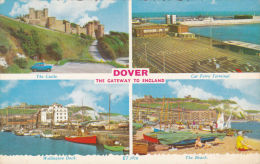 DOVER MULTI VIEW . THE GATEWAY TO ENGLAND - Dover