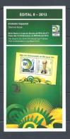 BRAZIL 2013  -   CONFEDERATIONS CUP FIFA 2013  - Official Brochure - Portuguese And English - Brazil