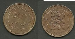 Estland Estonia Estonie 50 Senti Coin 1936 - Estonie