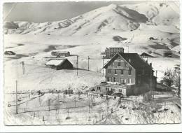 """La Toussuire, Savoie, Cpsm , 401-7 A Hôtel Du Col """" Le Grand True """" , Voyagée En 1963, 10-15 , Combier - Zonder Classificatie"""