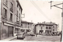 CPSM - Ambérieu En Bugey (01) -  La Place Sanville - Voitures Dont 2 CV - Commerces. - Autres Communes