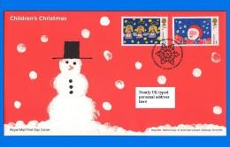 GB 2013-0050, Christmas Stamp Design Winner FDC, Llandeilo SHS - 2011-... Decimal Issues