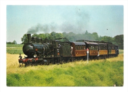Cp, Train, A.J.E.C.T.A. - N° 8 - Le Train Touristique Chinon - Richelieu - Trenes