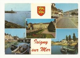 Cp, 14, Isigny-sur-Mer, Multi-Vues, Voyagée 1979 - Francia