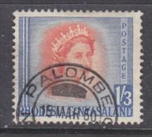 Rhodesia & Nyasaland, Elizabeth II, 1/3, PALOMBE 1960 C.d.s. - Rhodésie & Nyasaland (1954-1963)