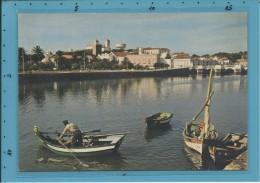 TAVIRA - BARCOS NO RIO GILÃO - VISTA PARCIAL - Stamp & Cancel - Portugal - 2 SCANS - Faro