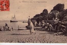 St-Marc..très Animée.. Belle Vue De La Plage à Marée Basse.. Voilier - Other Municipalities