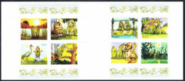 Estonia Estland 2001 Pokuland Booklet Fairy Tale By Edgar Walter (8v) * MNH * - Estonia