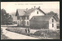CPA Lauw, L'Ancienne Douane Allemande - France