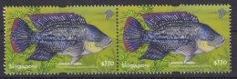 Singapore 2011 Fish Tilapia Pair MNH - Fische