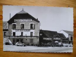 21 : Arnay-le-Duc - Hotel Du Dauphiné - Café Restaurant - Route Paris-Nice - Garage + Voitures  2 CV 203 Etc. - (n°2086) - Arnay Le Duc