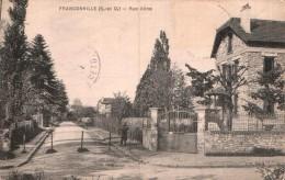 95 FRANCONVILLE RUE ALINE CIRCULEE 1927 - Franconville