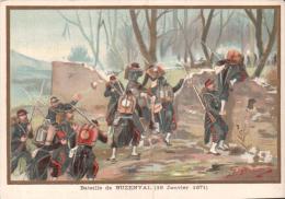 BATAILLE DE BUZENVAL 18 JANVIER 1871  AU BON MARCHE PAUL BIZOT LE MANS - Artis Historia
