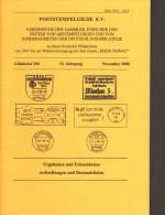 Poststempelgilde Gildebrief Band 200 U.a Postfreistempel Inflazeit, Inhaltsverzeichnis Siehe Bild 2 - Annullamenti