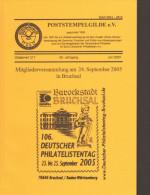 Poststempelgilde Gildebrief Band 217  Inhaltsverzeichnis Siehe Bild 2 - Annullamenti
