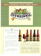 Brasserie Timmermans à Itterbeek-Dilbeek-Bière- Bières Lambic Et Fruitées-Publicité De Table-recto-verso-20x15cm - Autres Collections