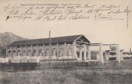 CPA - St Paul Les Trois Châteaux - Hangar Des Carrières - France