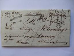 1845 AUSTRIA VORPHILA ENTIRE FROM GRIESKIRCHEN TO SIMERING - Austria